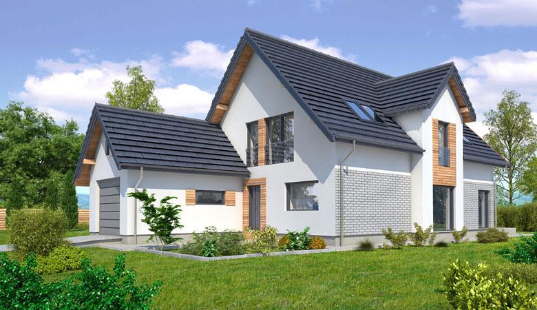 Dom drewniany ADAM (PD-546) slajd