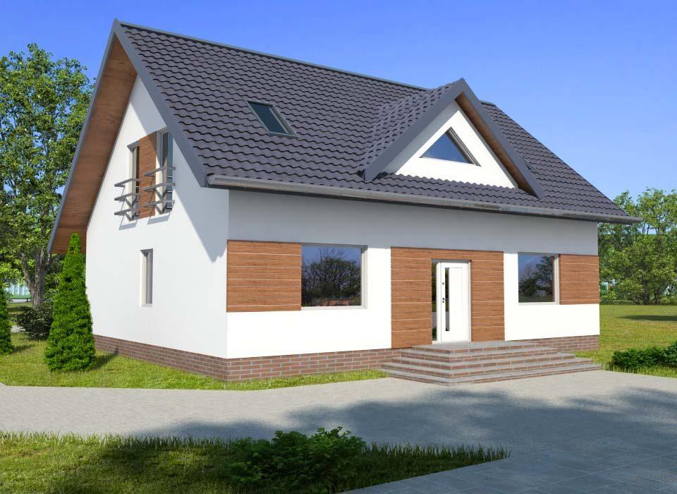 Dom drewniany ANDRZEJ (PD-507)
