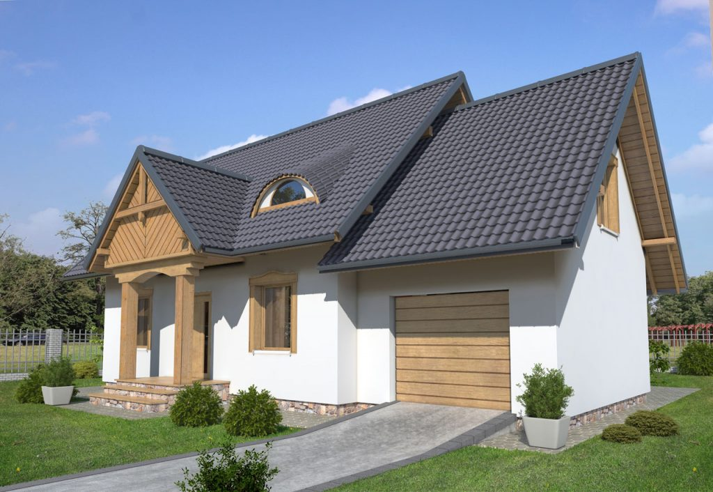 Dom drewniany FRANEK (PD-582)