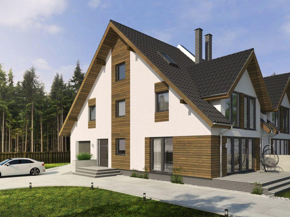 Dom drewniany Sylwia PD-927