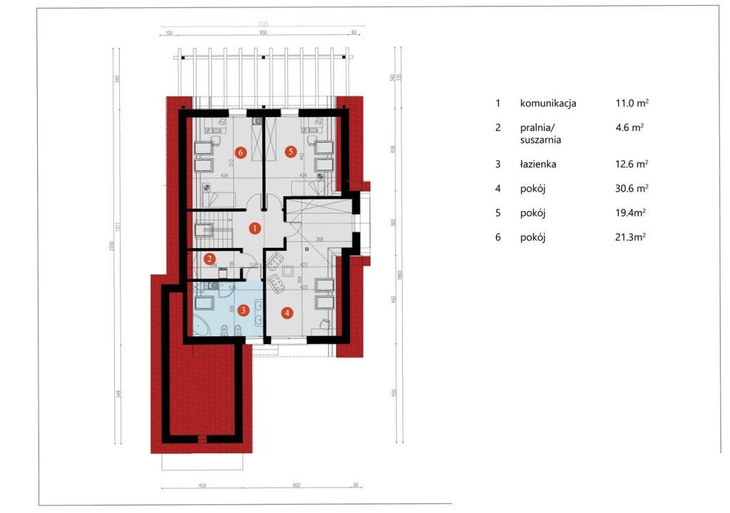 Dom drewniany ADAM (PD-546)